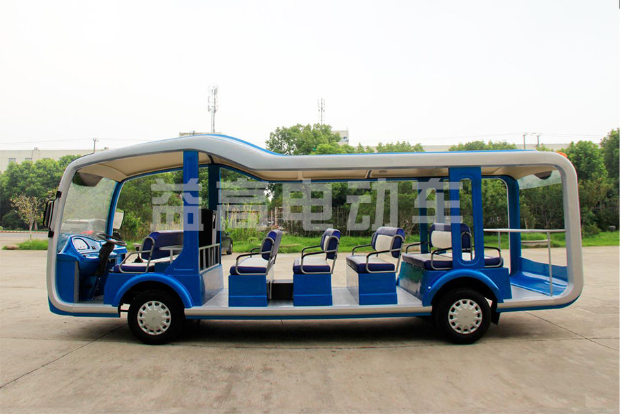 The Suzhou Eagle launched a new 23-seat tourist bus