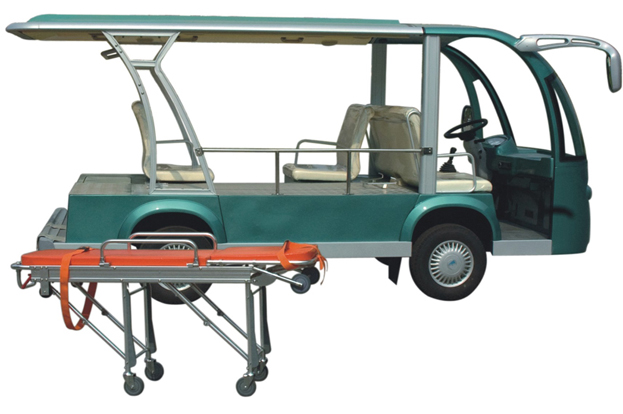 electric ambulance car, big size stretcher on golf cart trolley, golf cart ambulance, golf cart upholstery, golf cart wheel chair, golf cart bed,