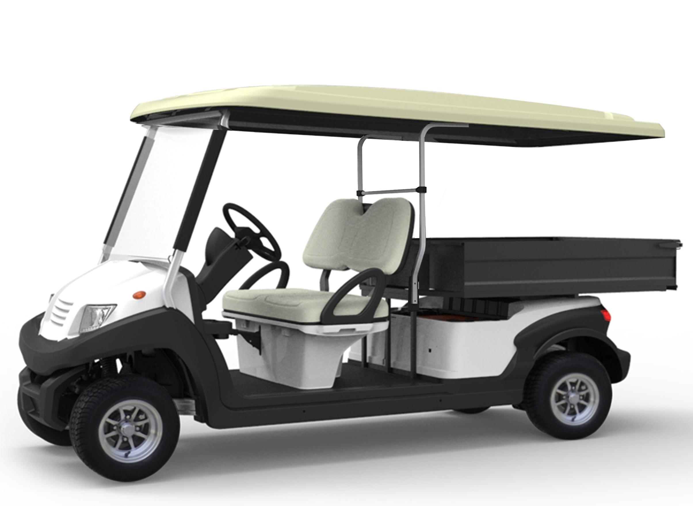 EG204AKSZT electric utility vehicle aluminum chassis